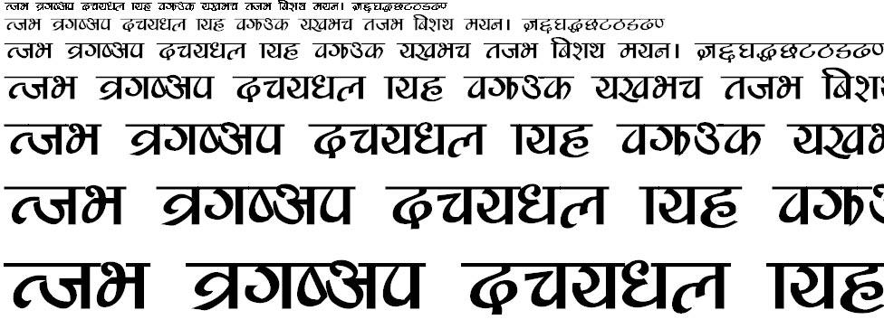 Safaltabold Hindi Font