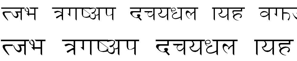 Sama Hindi Font