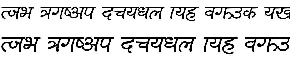 SCiHand Hindi Font