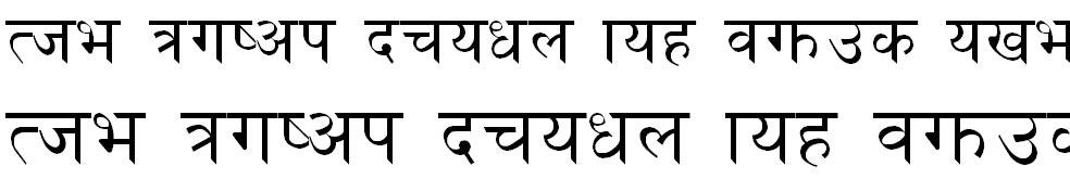 Shangrila Numeric Hindi Font