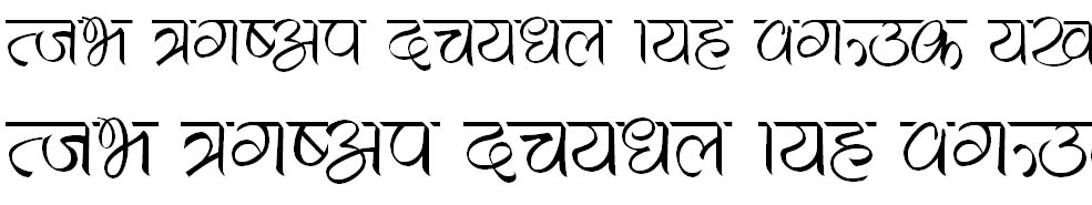 Shilaa Hindi Font