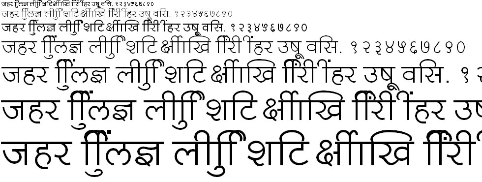 Shree726 Hindi Font