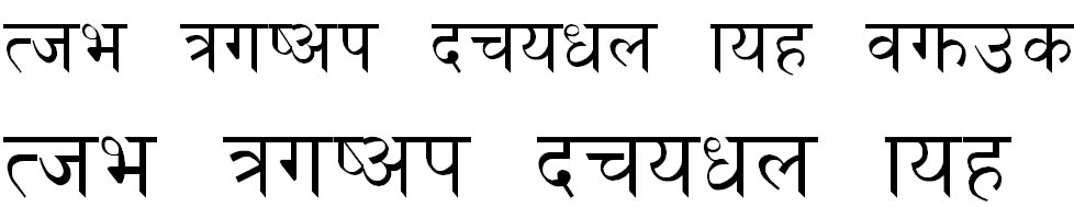 Siddhi Normal Hindi Font