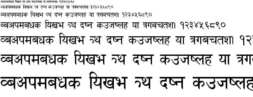 SuDaR Hindi Font