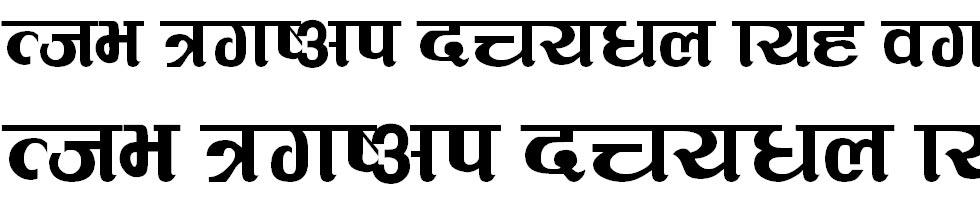 Suryodaya Hindi Font