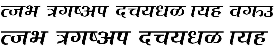 Dev Bisfot Hindi Font