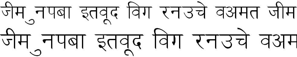 DevLys 030 Hindi Font