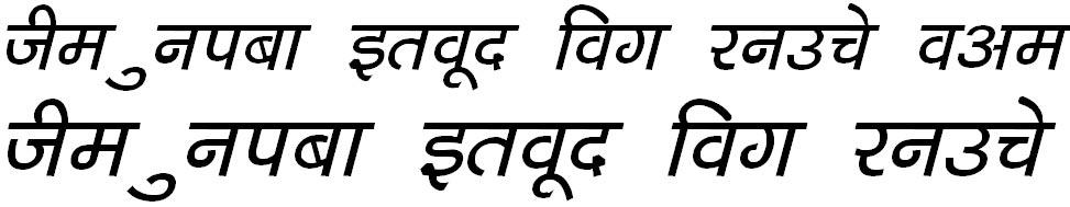 DevLys 040 Bold Italic Hindi Font