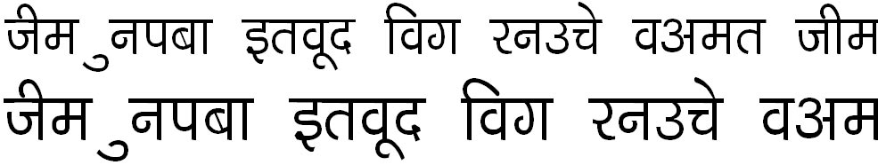 DevLys 040 Thin Hindi Font