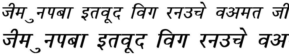 DevLys 050 Bold Italic Hindi Font