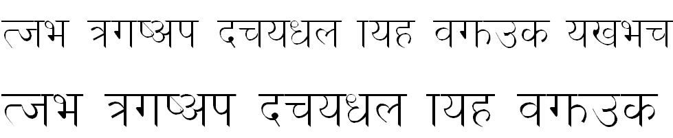 Dina1 Hindi Font