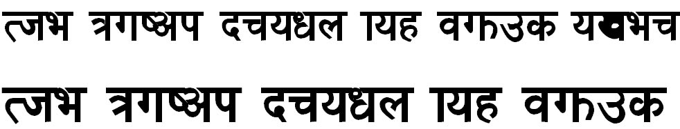 Dina-A Hindi Font