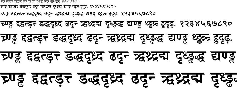 DV TTSurekh Bold Hindi Font