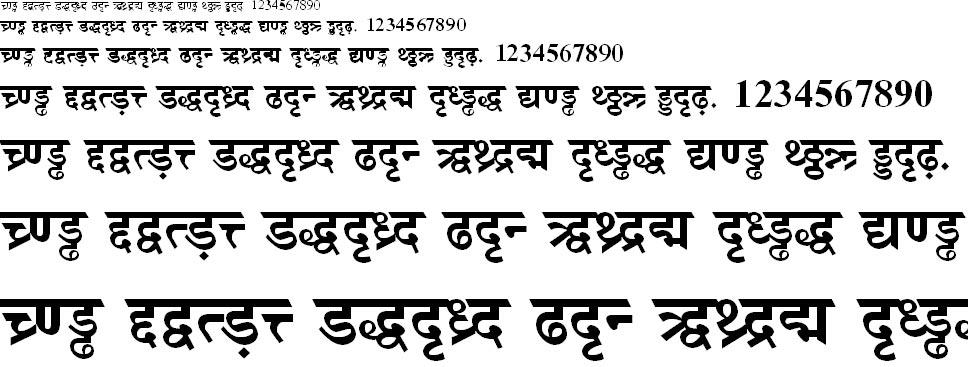 DV TTSurekhEN Bold Hindi Font