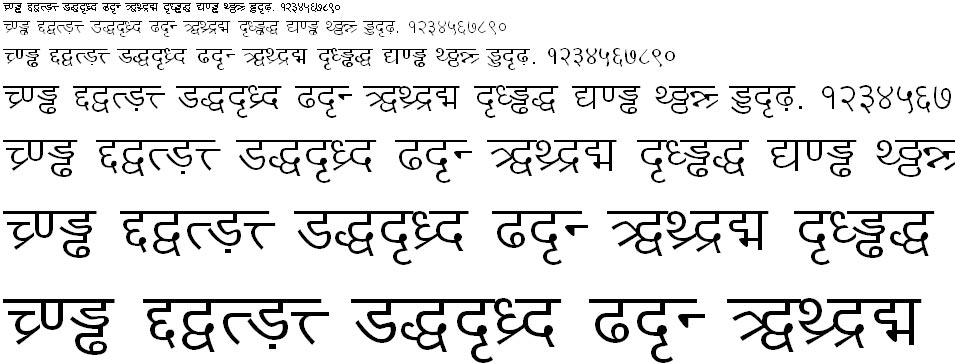 DV TTYogesh Normal Hindi Font