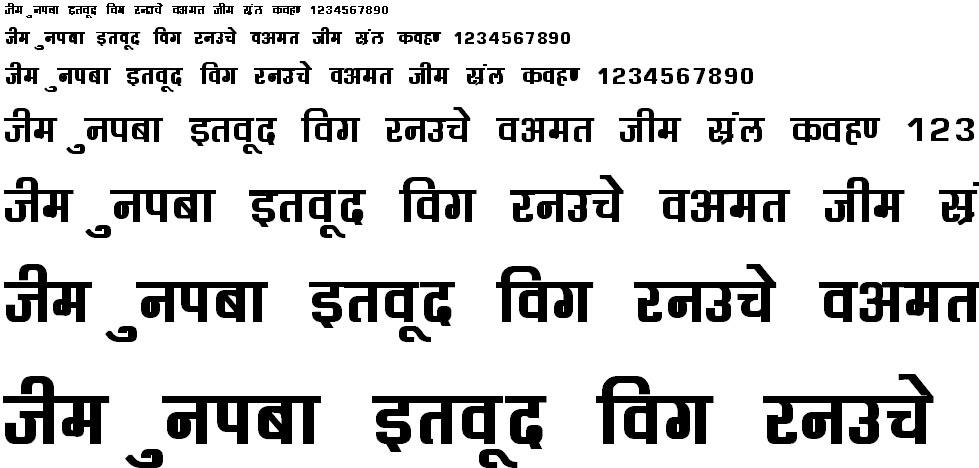 DevLys 060 Bold Hindi Font