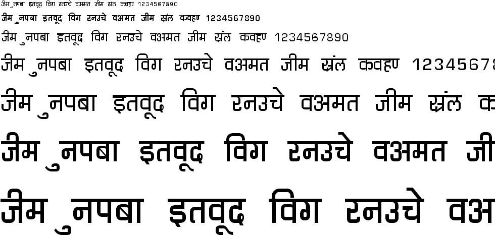 DevLys 060 Hindi Font