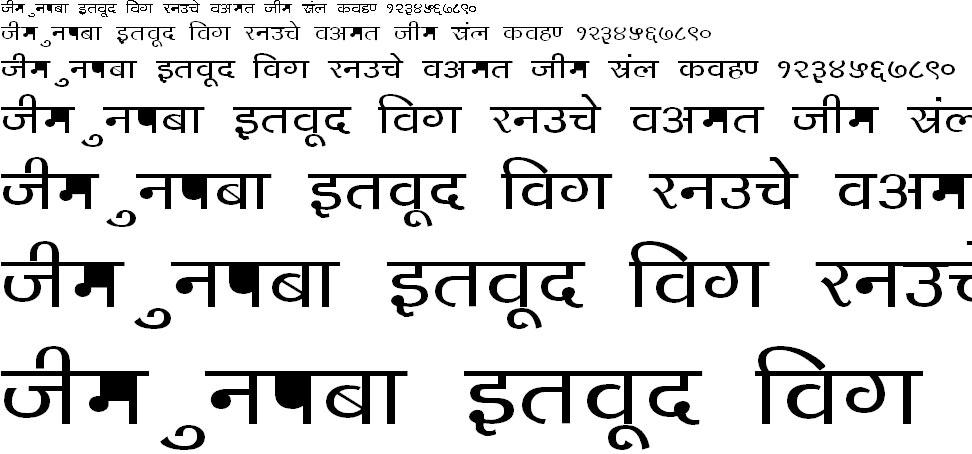 DevLys 140 Bold Hindi Font