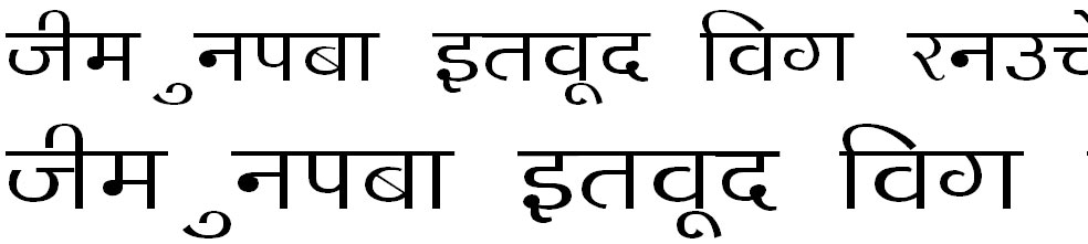 DevLys 140 Hindi Font