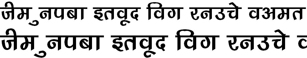 DevLys 240 Hindi Font