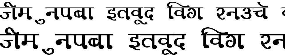 DevLys 330 Bold Hindi Font