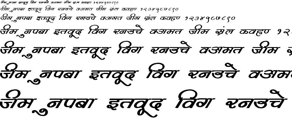 DevLys 360 Bold Hindi Font