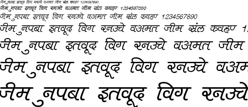 DevLys 400 Hindi Font