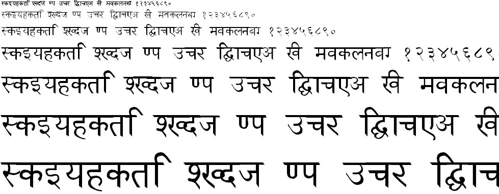 Udgam Hindi Font