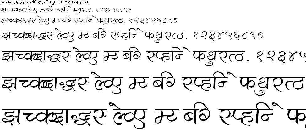 Aarti Hindi Font
